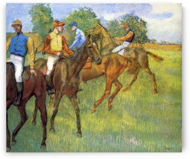 Weigh out by Degas by Degas