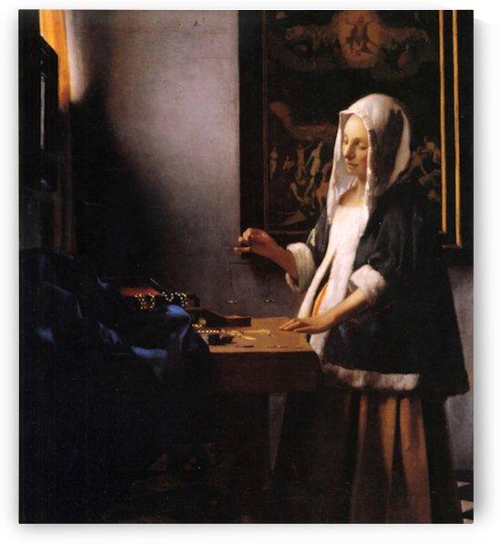 Weights by Vermeer by Vermeer
