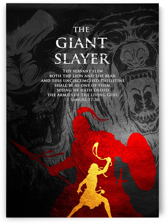 david the giant slayer by ABConcepts