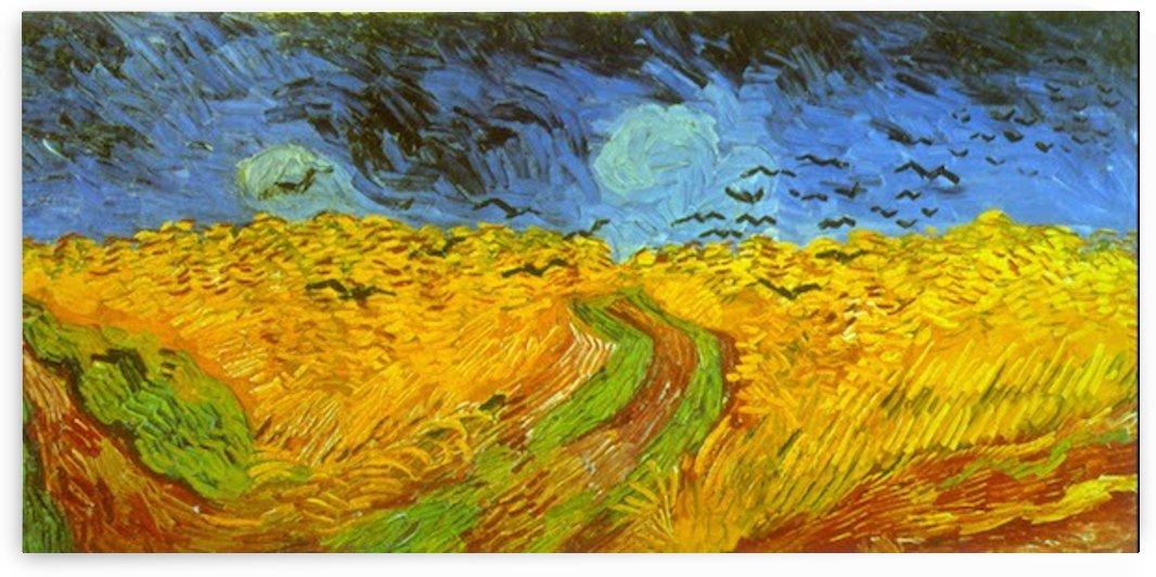 Wheatfield by Van Gogh by Van Gogh