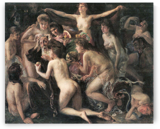 The Temptation of St. Anthony by Lovis Corinth by Lovis Corinth