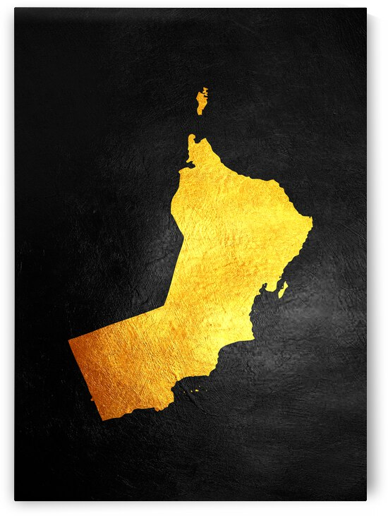 oman gold map by ABConcepts