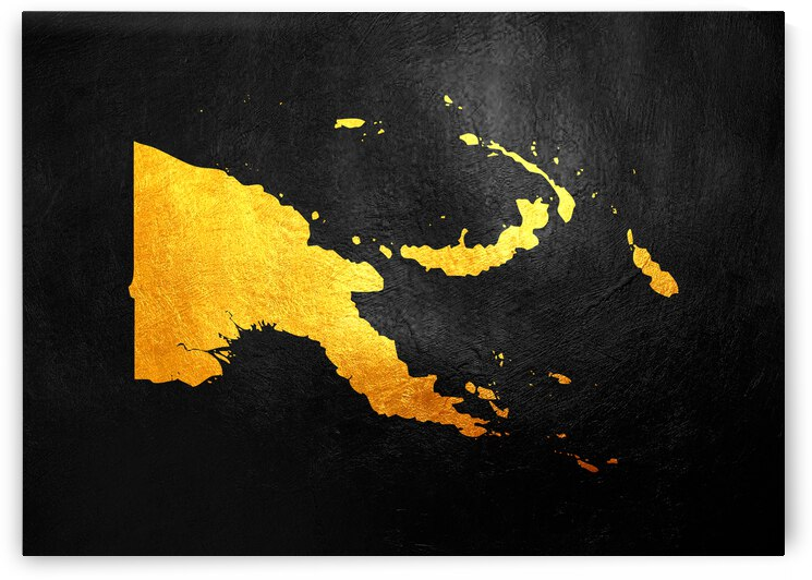 papua new guinea gold map by ABConcepts
