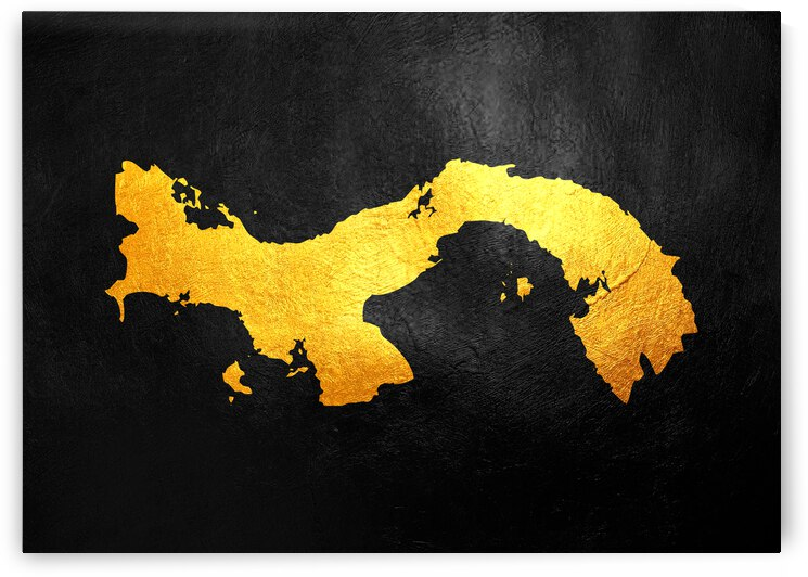 panama gold map by ABConcepts