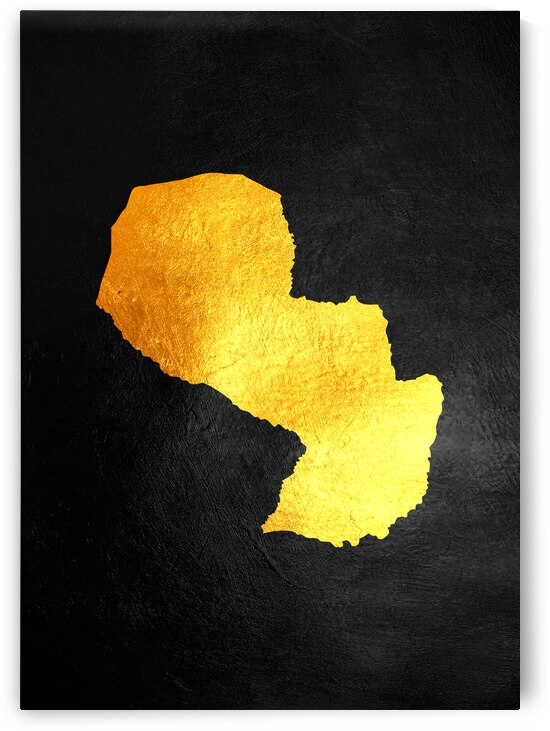 paraguay gold map by ABConcepts