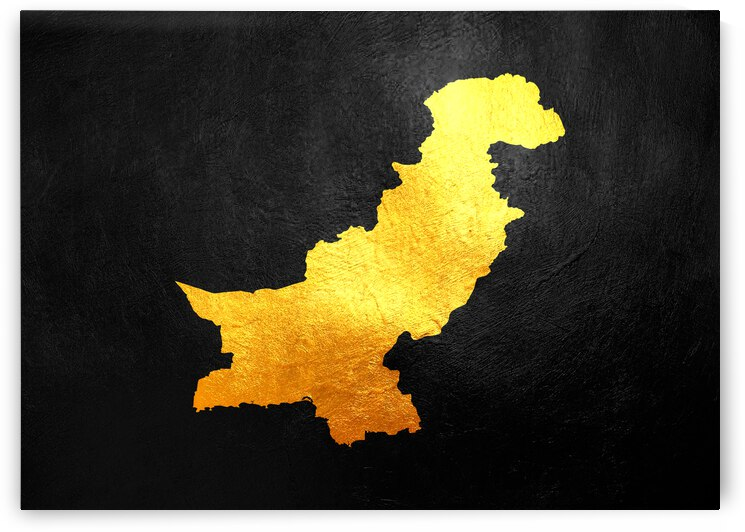 pakistan gold map by ABConcepts