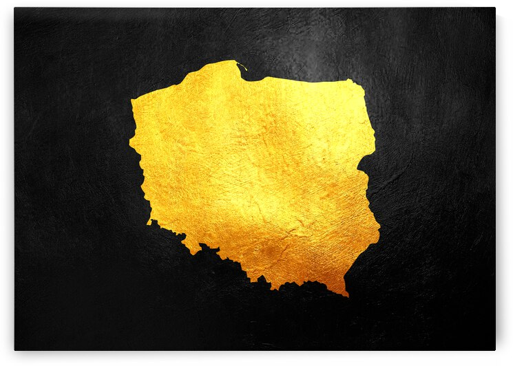 poland gold map by ABConcepts