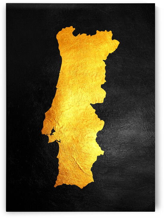 portugal gold map by ABConcepts