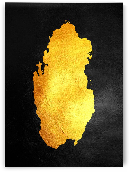 qatar gold map by ABConcepts