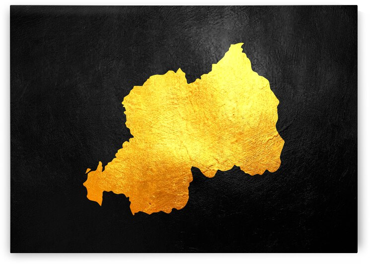 rwanda gold map by ABConcepts