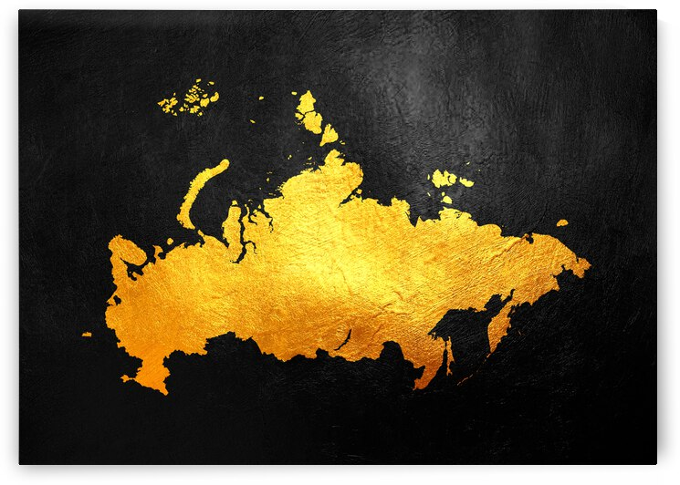 russia gold map by ABConcepts