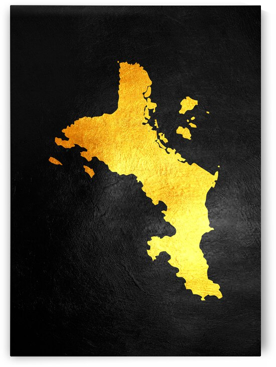 seychelles gold map by ABConcepts