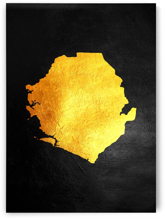 sierra leone gold map by ABConcepts