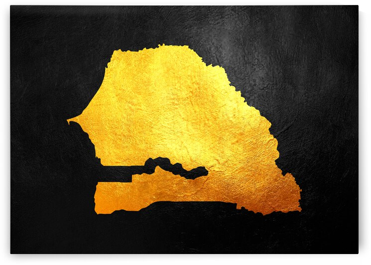 senegal gold map by ABConcepts