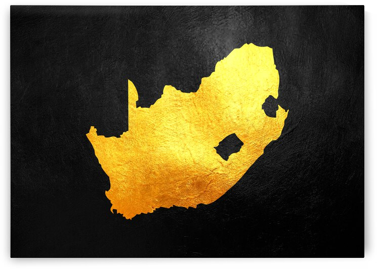 south africa gold map by ABConcepts