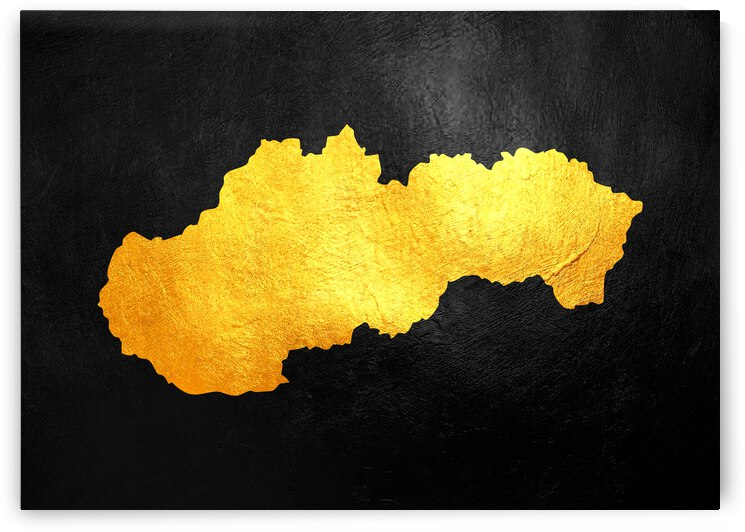 slovakia gold map by ABConcepts