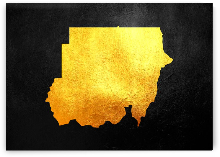 sudan gold map by ABConcepts