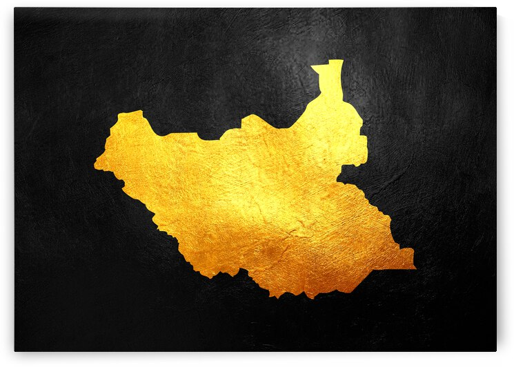 south sudan gold map by ABConcepts