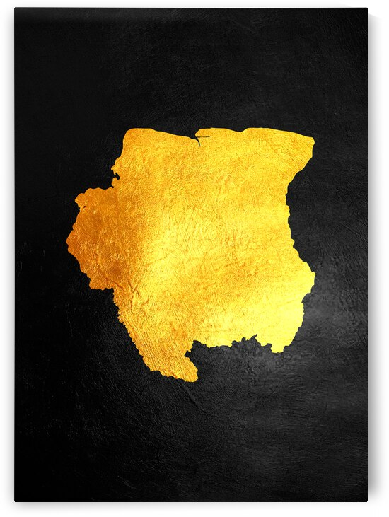 suriname gold map by ABConcepts