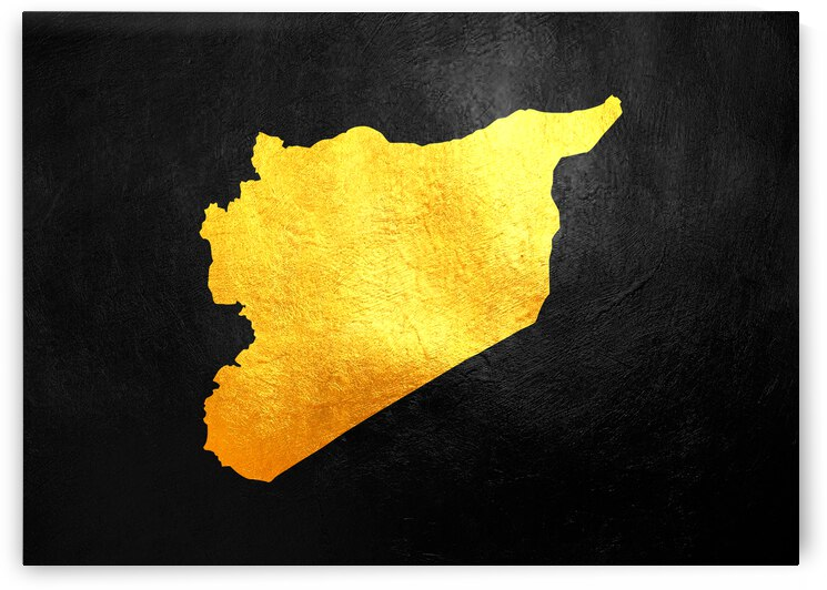 syria gold map by ABConcepts