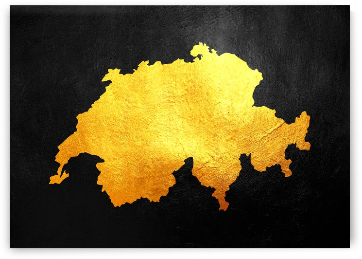 switzerland gold map by ABConcepts
