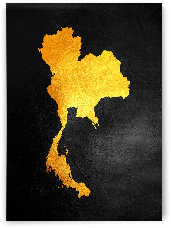 thailand gold map by ABConcepts