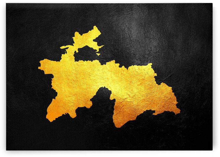 tajikistan gold map by ABConcepts