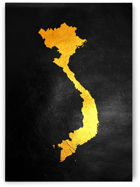 vietnam gold map by ABConcepts