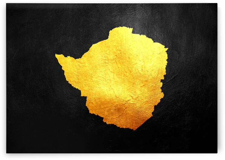 zimbabwe gold map by ABConcepts