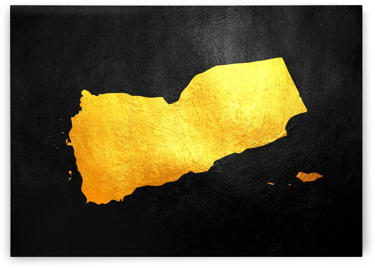 yemen gold map by ABConcepts