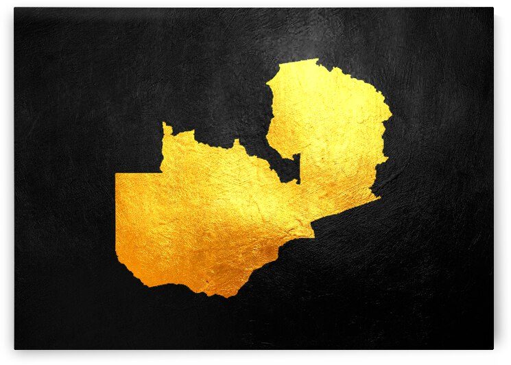 zambia gold map by ABConcepts