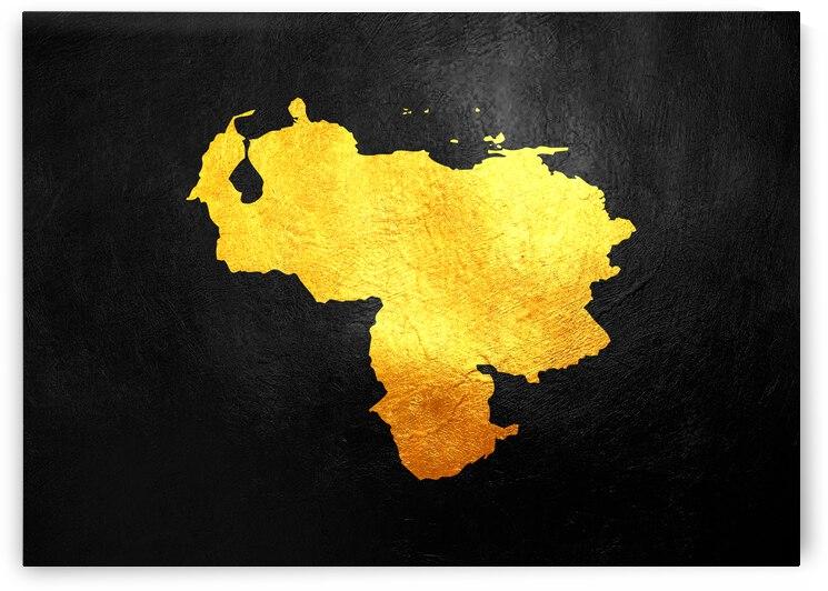 venezuela gold map by ABConcepts