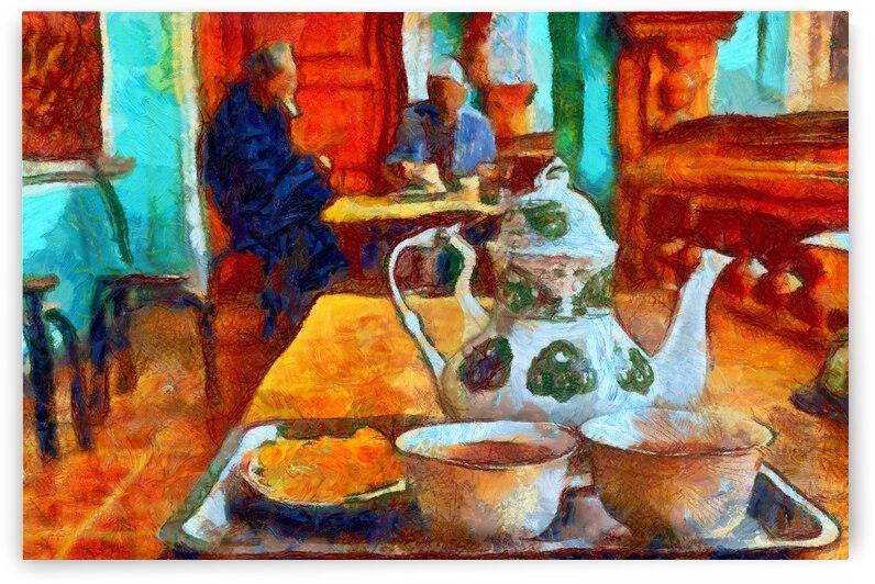 China Xinjiang Kashgar inVincent Willem van Goghstyle. 5.    by ArtEastWest