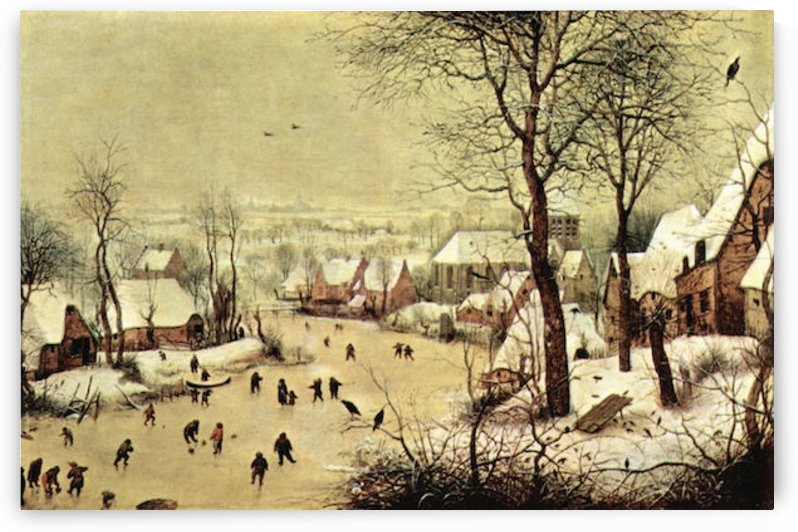 Winter landscape with skaters by Pieter Bruegel by Pieter Bruegel
