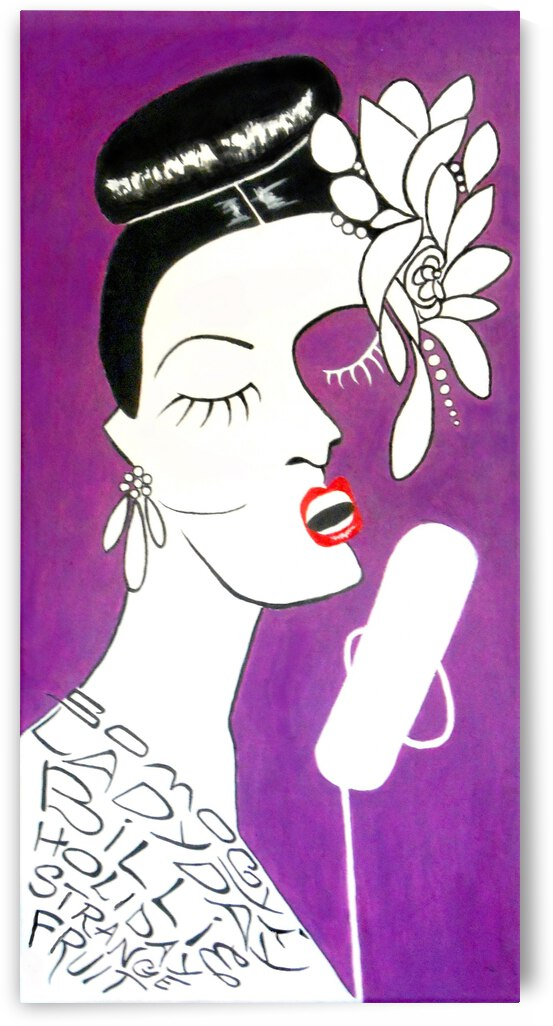 Strange Fruit--Billie Holiday by Jayne Somogy