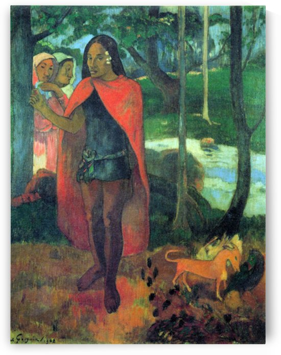 Wizard of Hiva-Oa by Gauguin by Gauguin