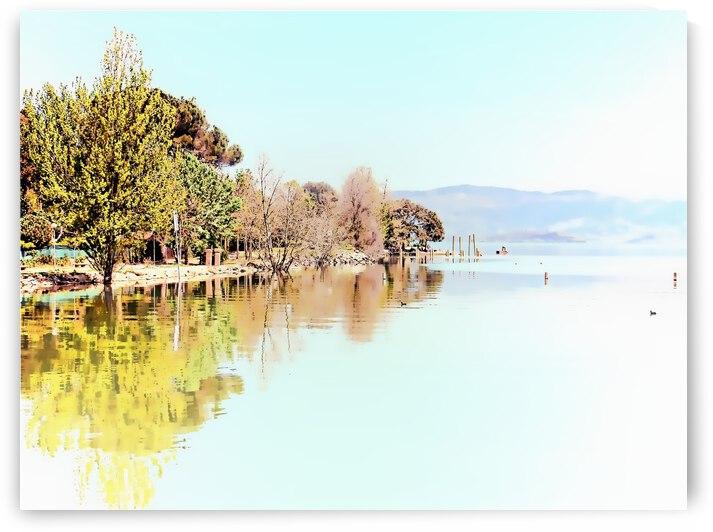 Lakeside Interpretation by Dorothy Berry-Lound