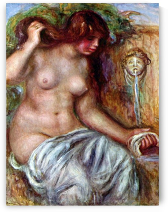 Woman at the Well by Renoir by Renoir