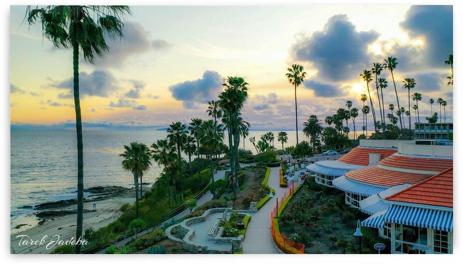 Laguna Beach Downtown  by EYES IN THE SKY