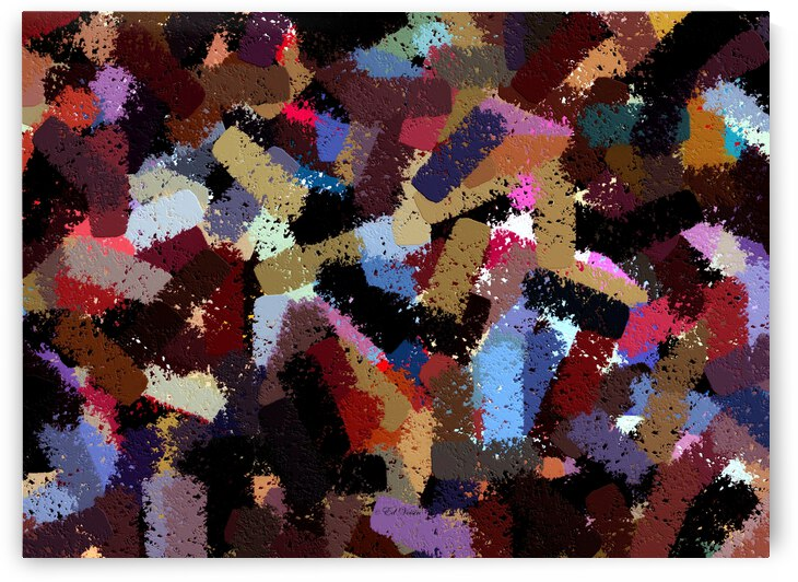 PAINT SAMPLES  - ABSTRACT by Digicam