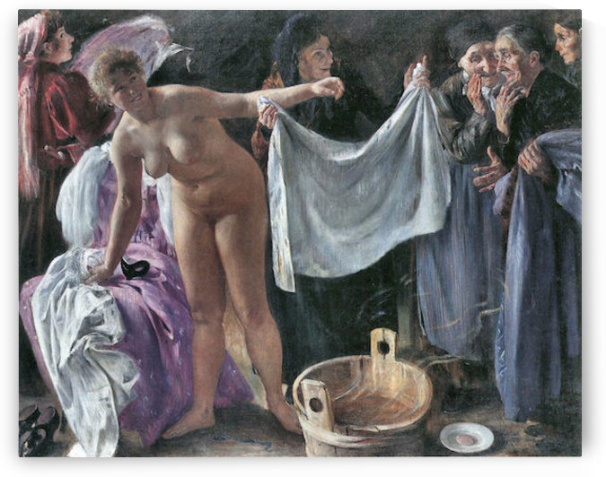 The Witches by Lovis Corinth by Lovis Corinth