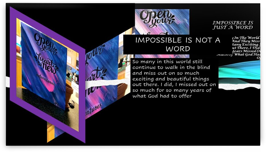 14. IMPOSSIBLE IS NOT A WORD by AlCuevas