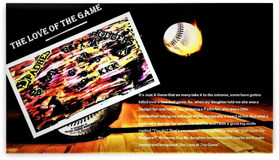 The Love Of The Game  3  by AlCuevas