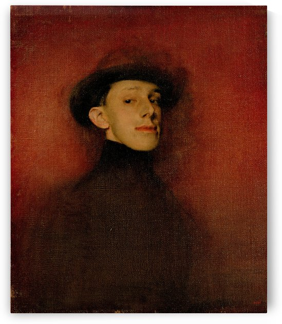 Study from Life for the Portrait of King Alfons XIII by Ramon Casas i Carbo