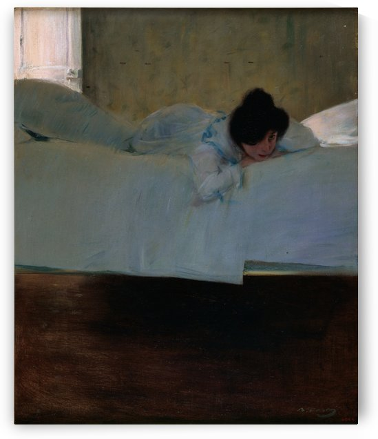 Laziness by Ramon Casas i Carbo
