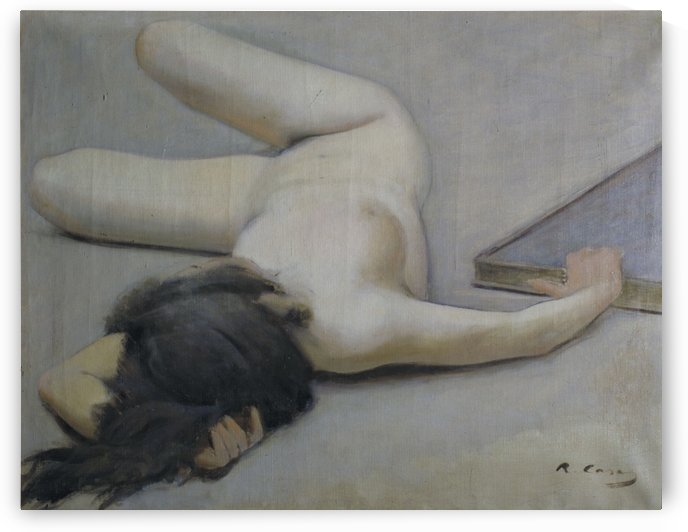 Nu femeni by Ramon Casas i Carbo
