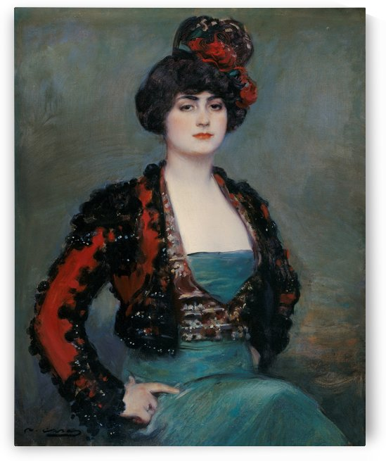Julia, 1915 by Ramon Casas i Carbo