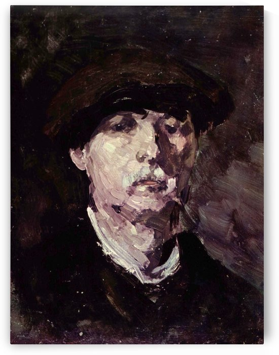 Selfportrait by Ramon Casas i Carbo