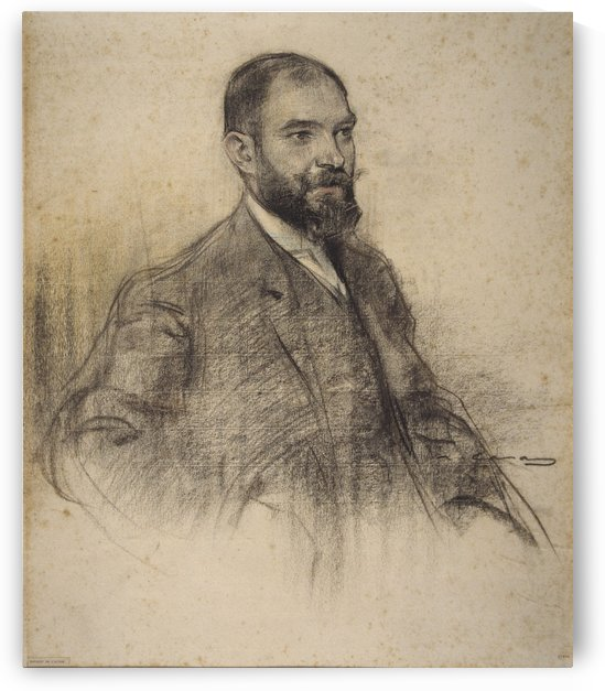 Portrait of Bartomeu Amengual by Ramon Casas i Carbo