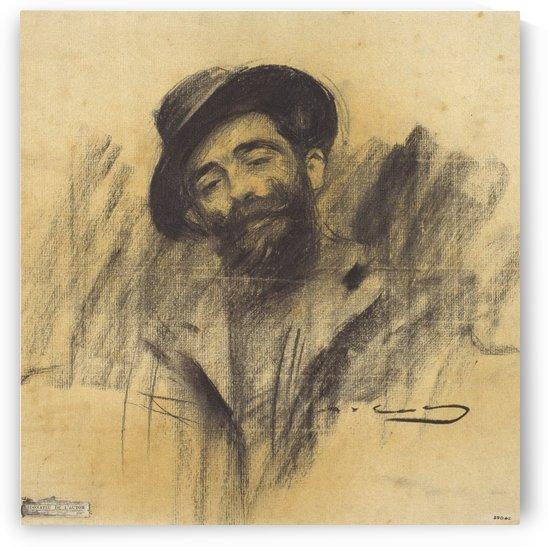 Portrait of Eliseu Meifren by Ramon Casas i Carbo